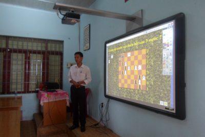 Tổ chức Chuyên đề cấp Cụm: Áp dụng CNTT vào giảng dạy và bồi dưỡng HSG cờ vua
