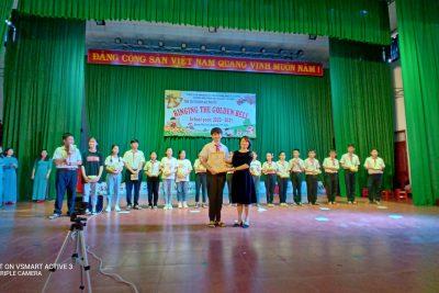 """Trường THCS Lương Thế Vinh tổ chức ngoại khóa Tiếng Anh """"RINGING THE GOLDEN BELL"""""""