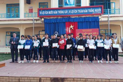 Trường THCS Lương Thế Vinh tổ chức lễ sơ kết học kì 1. Năm học 2020 – 2021