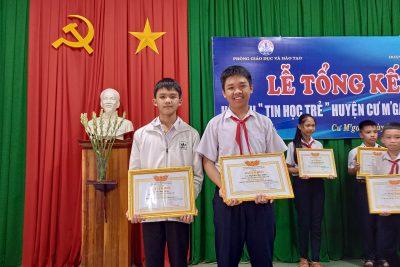 Trường THCS Lương Thế Vinh tổ chức thành công hội thi tin học trẻ năm 2021 đạt kết quả cao