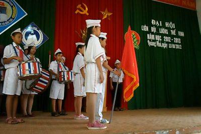 Đại hội Liên Đội trường THCS Lương Thế Vinh