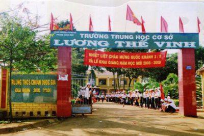 Hình ảnh hoạt động trường THCS Lương Thế Vinh