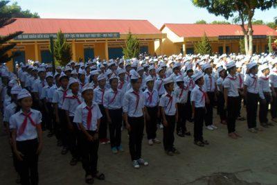 Hội thi Nghi thức Đội và múa hát tập thể trường THCS Lương Thế Vinh năm học 2012 – 2013