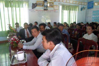 Lễ chia tay đồng chí Võ Thị Tuyên về hưu