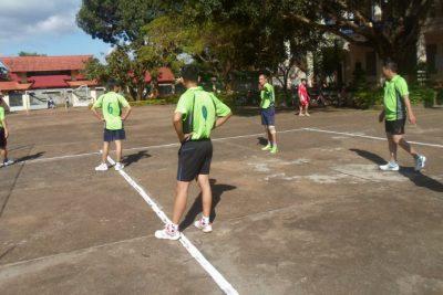 Trường THCS Lương Thế Vinh tham gia Hội thao bóng chuyền nam Khối thi đua số 2 Năm học 2015-2016