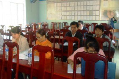 Trường THCS Lương Thế Vinh tổ chức chuyên đề cấp cụm ngày 25/01/2013.