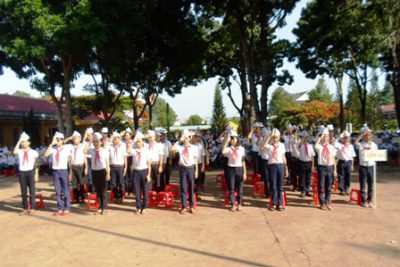 Trường THCS Lương Thế Vinh tổ chức lễ tổng kết năm học 2012- 2013