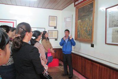 Trường THCS Lương Thế Vinh tổ chức thăm quan Nhà đày BMT và bảo tàng Đăk Lăk