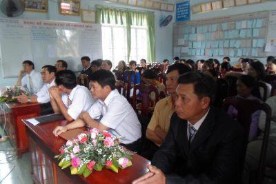 Trường THCS Lương Thế Vinh toạ đàm – kỉ miệm lần thứ 31 ngày Nhà giáo Việt Nam