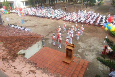 Trường THCS Lương Thế Vinh tưng bừng khai giảng năm học mới 2015-2016
